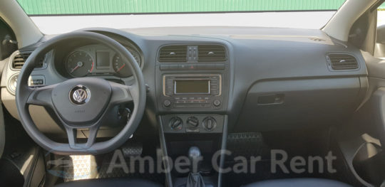 Руль Volkswagen Polo АКПП